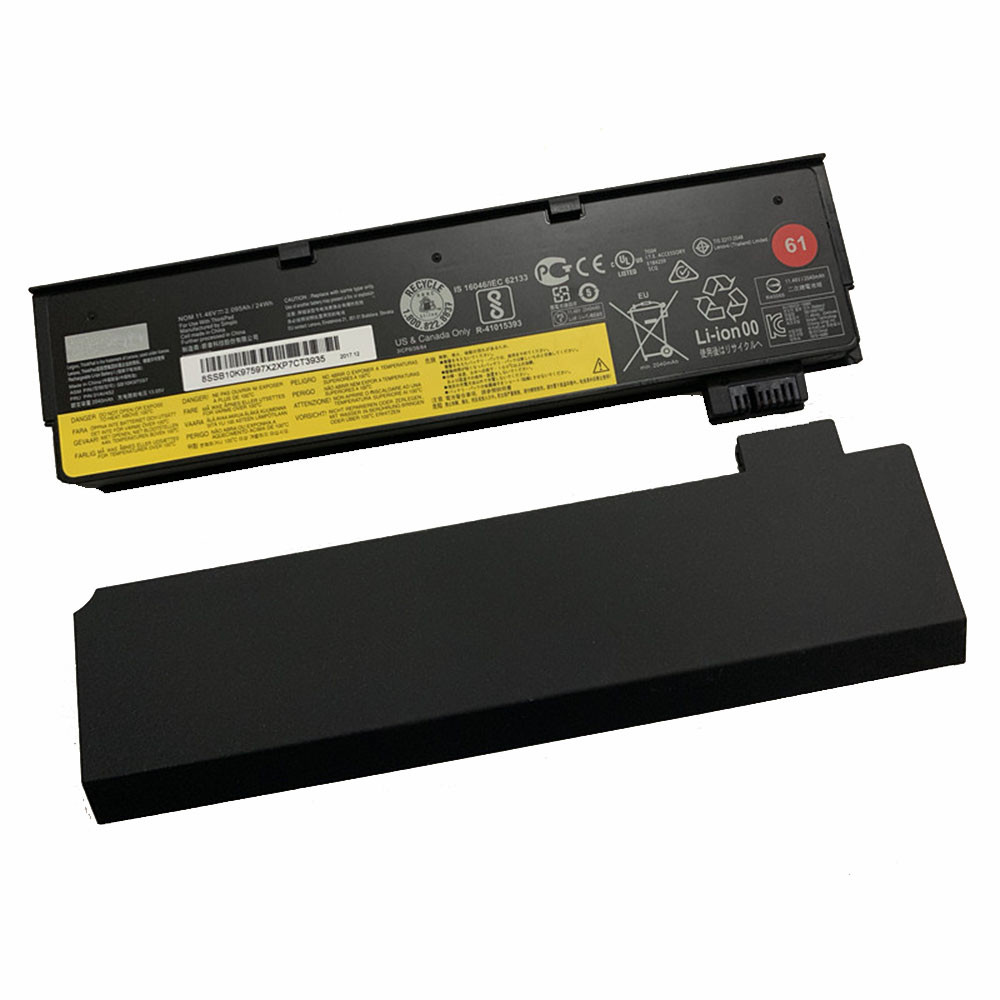 24Wh 11.4V 01AV427 Replacement Battery for Lenovo ThinkPad T470 T480 T570 T580