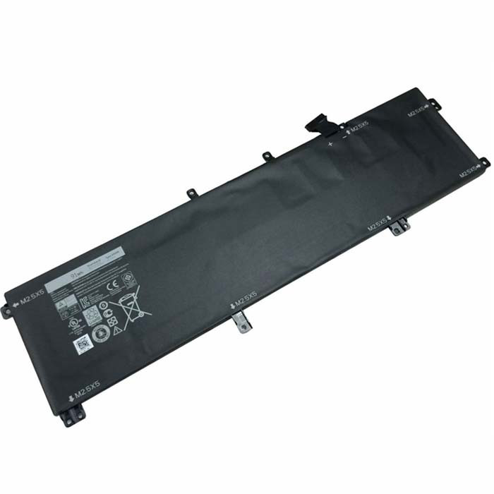 91Wh/9cell Dell XPS 15 9530 Precision M3800 Replacement Battery 245RR T0TRM H76MV 7D1WJ 11.1V