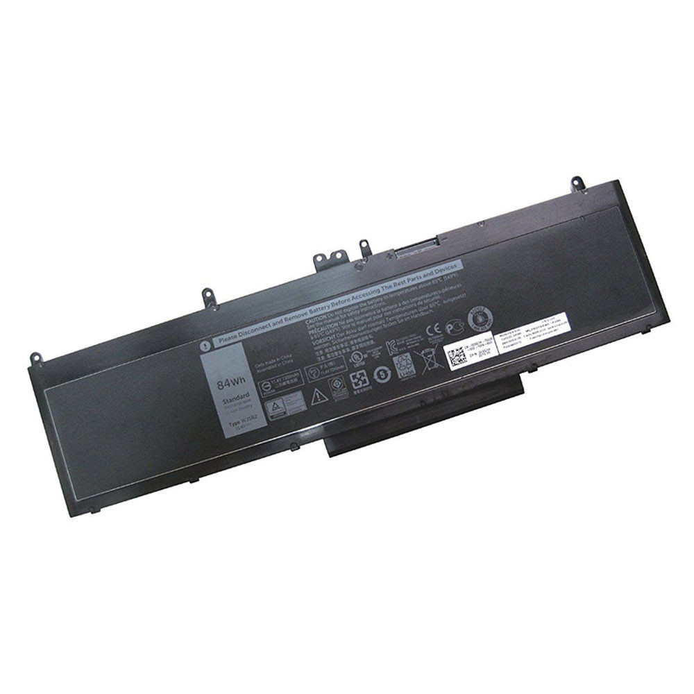 7368MAH/84WH 11.4V WJ5R2 Replacement Battery for Dell Precision 3510 Series