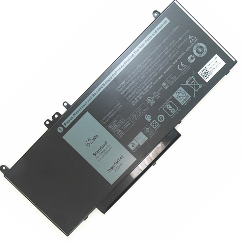 62Wh Dell Latitude E5450 E5550 E5570 Notebook 15.6 Replacement Battery 6MT4T 7.6V(compatible with 7.4V)