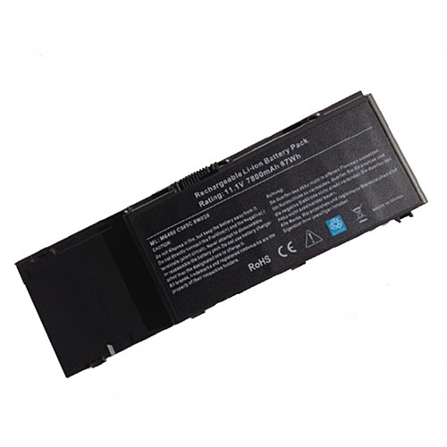 85WH/7800mAh Dell Precision M6500  Dell Precision M6400 9cells 7800mAh Replacement Battery C565C 8M039 11.1V(compatible with 10.8V)
