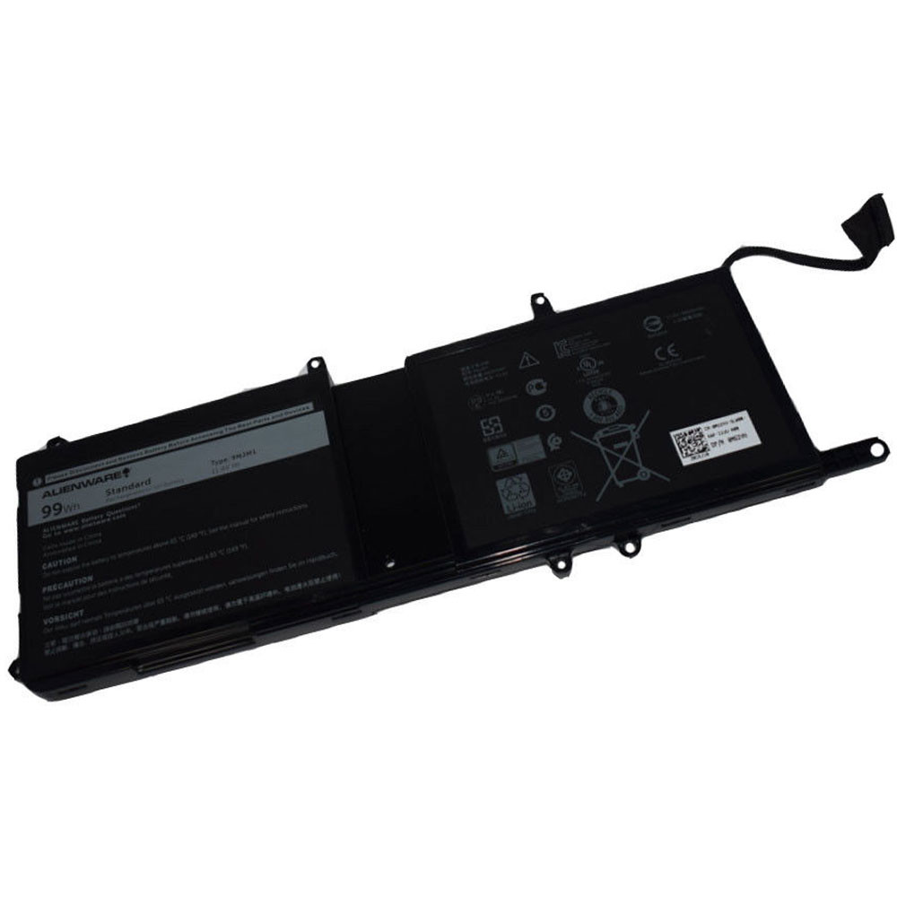 99Wh Dell Alienware 17 R4 ALW17C-D2738 D1738 D2748 D2758 R1748 Replacement Battery 9NJM1 11.4V