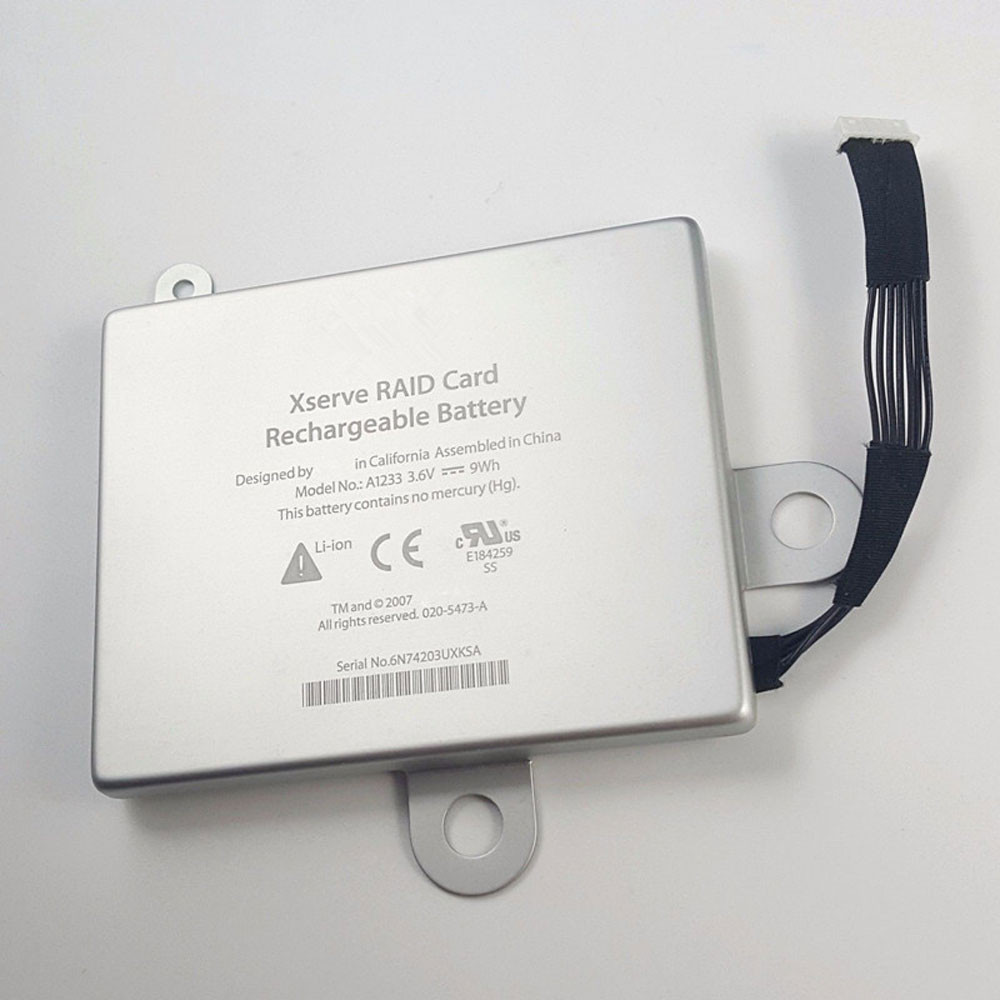 9Wh 3.6V A1233 Replacement Battery for Apple Xserve RAID Card 922-8946 923-00864