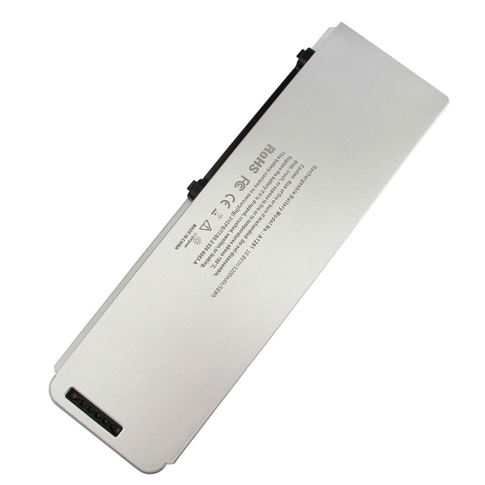 50WH 10.8V A1281 Replacement Battery for Apple 2008 MacBook Pro 15 inch Late 2008