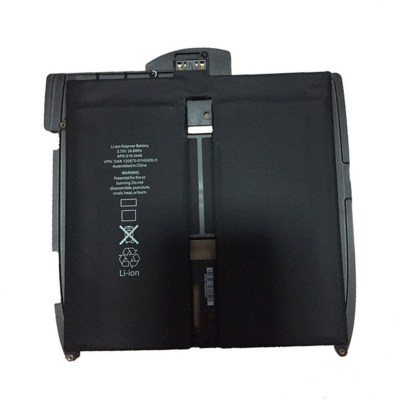 6600mAh iPad 1st A1315 A1219 A1337 616-0448 Replacement Battery A1315 3.75V