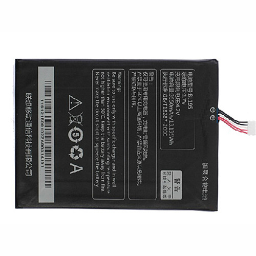 3700mah/3.7wh lenovo ideapad A2107A A2207 A2 Tablet Replacement Battery L12T1P3 3.7V