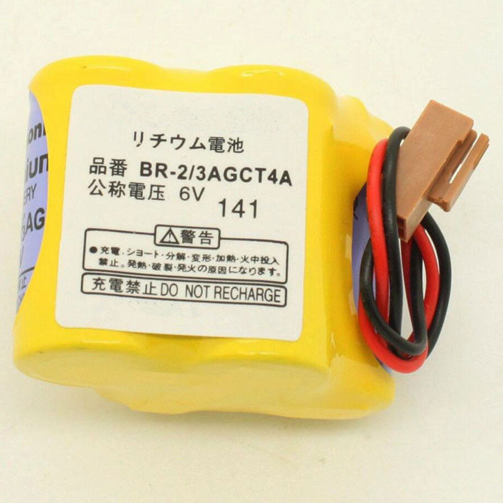 2400mAh 6V BR-2/3AGCT4A Replacement Battery for Panasonic FANUC A98L-0031-0025