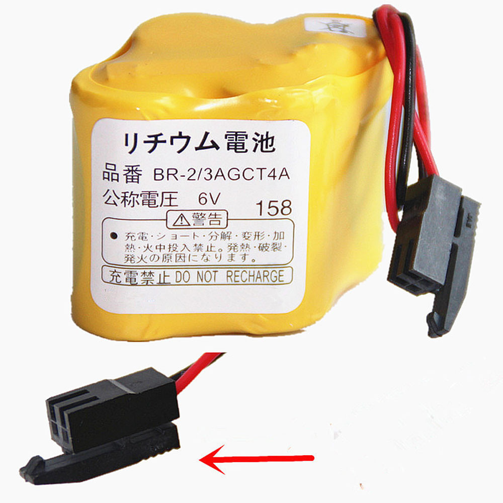 4400mAh 6V A98L00310025 Replacement Battery for PLC Backup Ge Fanuc Robotic