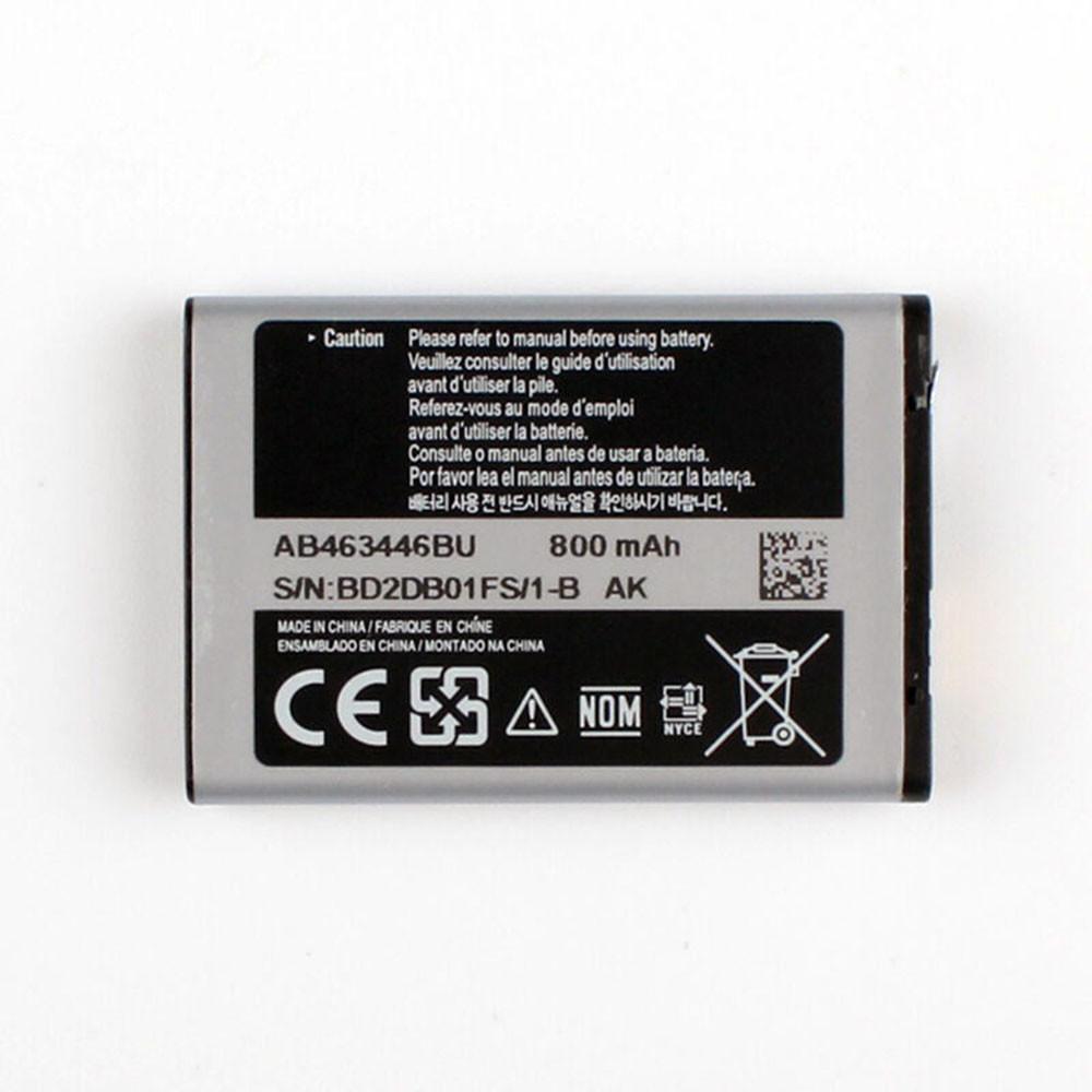800mAh/2.96WH 3.7V AB463446BC Replacement Battery for Samsung GT-C3520 E1080c M628 X520 E878 E1200M E1228 X208