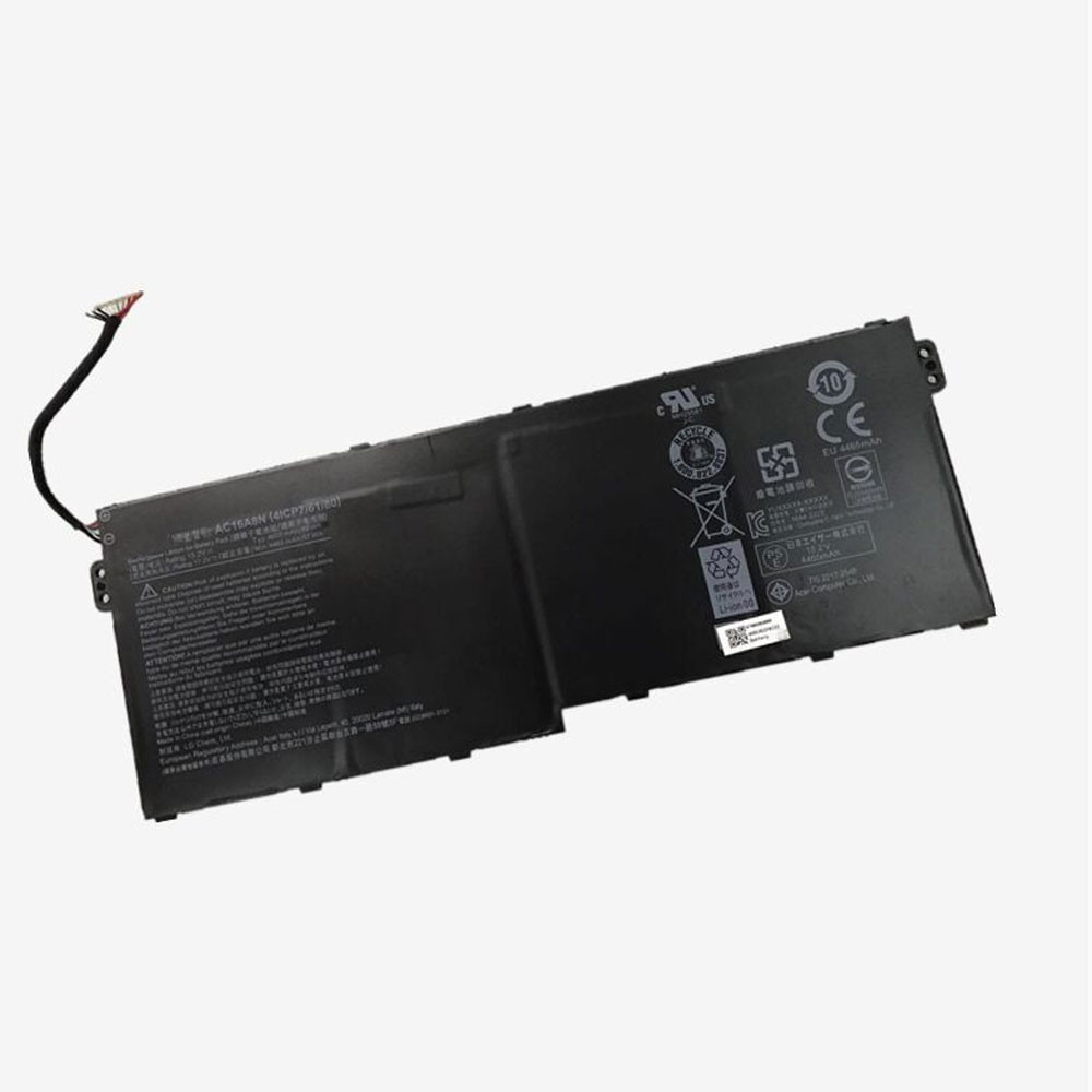 4605mAh/69WH 15.2V/17.2V AC16A8N Replacement Battery for Acer Aspire V15 V17 Nitro BE VN7-593G VN7-793G Series