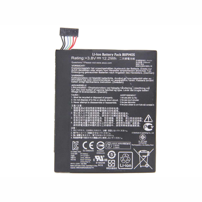 12.2Wh/3090mAh Asus MeMO Pad 7 ME70CX Replacement Battery B11P1405 3.8V