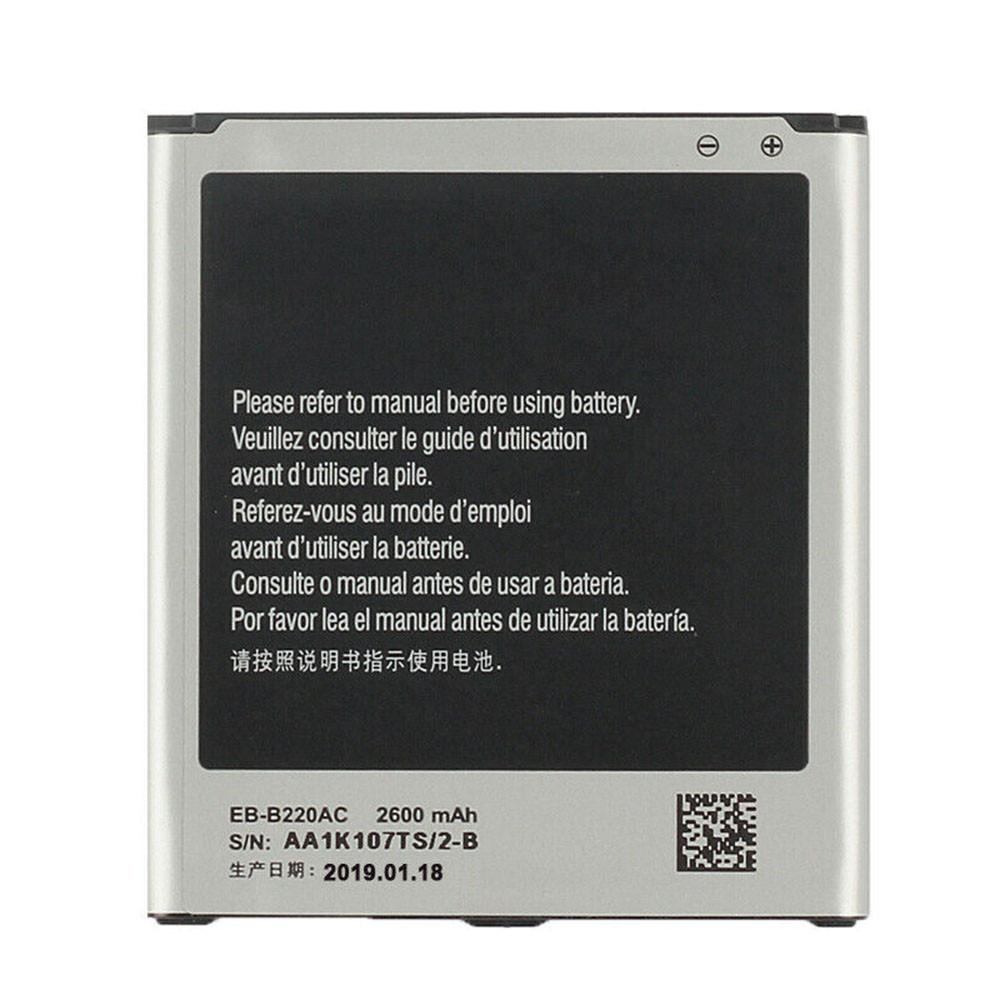 2600mAh/9.88WH 3.8V/4.35V EB-B220AC Replacement Battery for Samsung Galaxy Grand 2 SM-G7106 G7108 G7108V