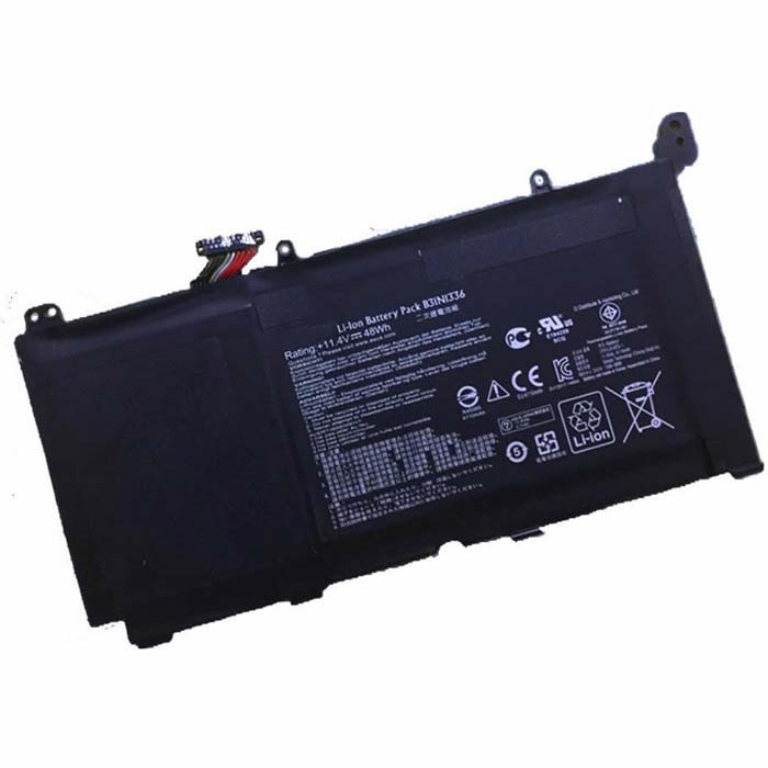48Wh Asus VivoBook S551 R553L R553LN S551LN-1A Replacement Battery B31N1336 11.4V