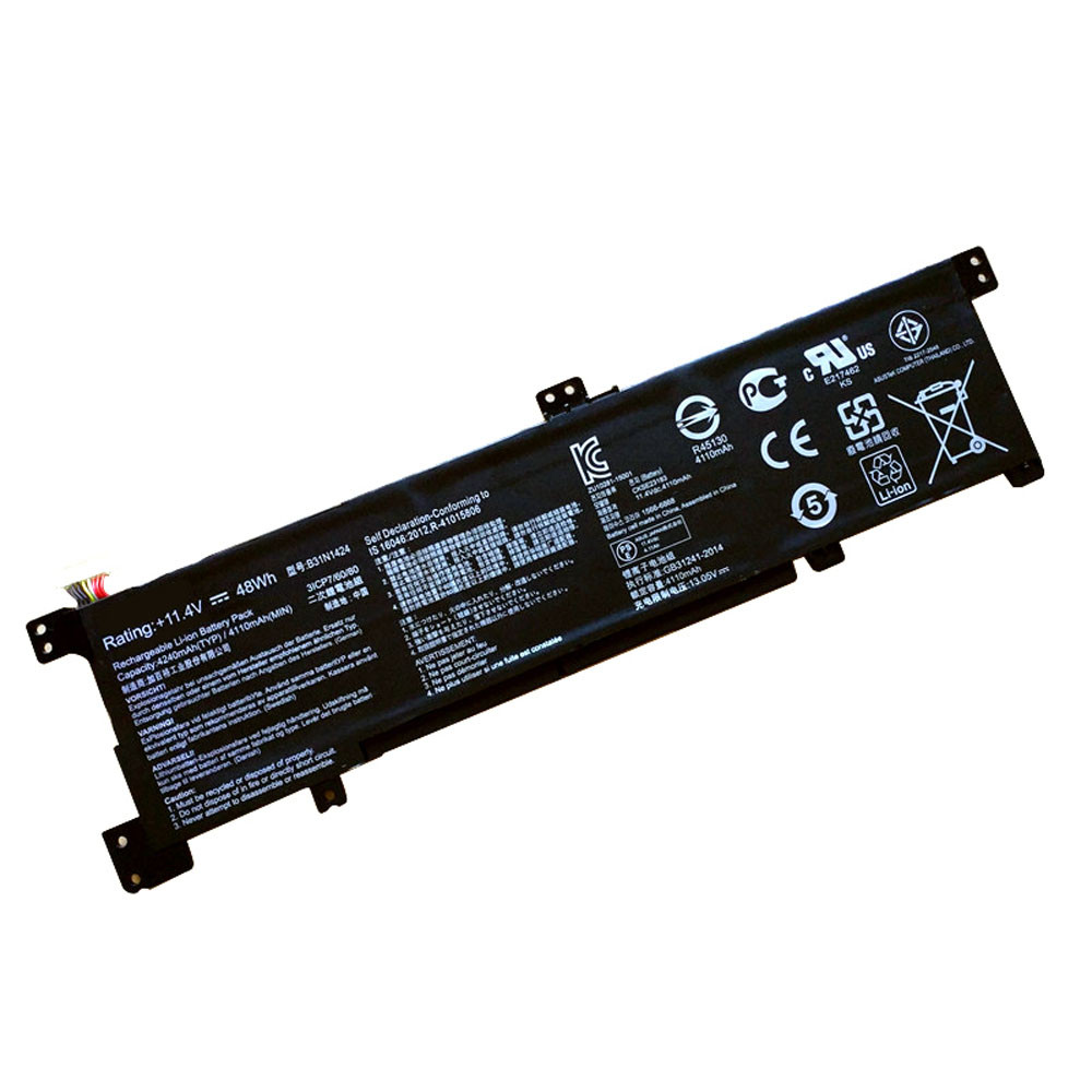 48Wh ASUS A400U K401L Series Replacement Battery B31N1424 11.4V