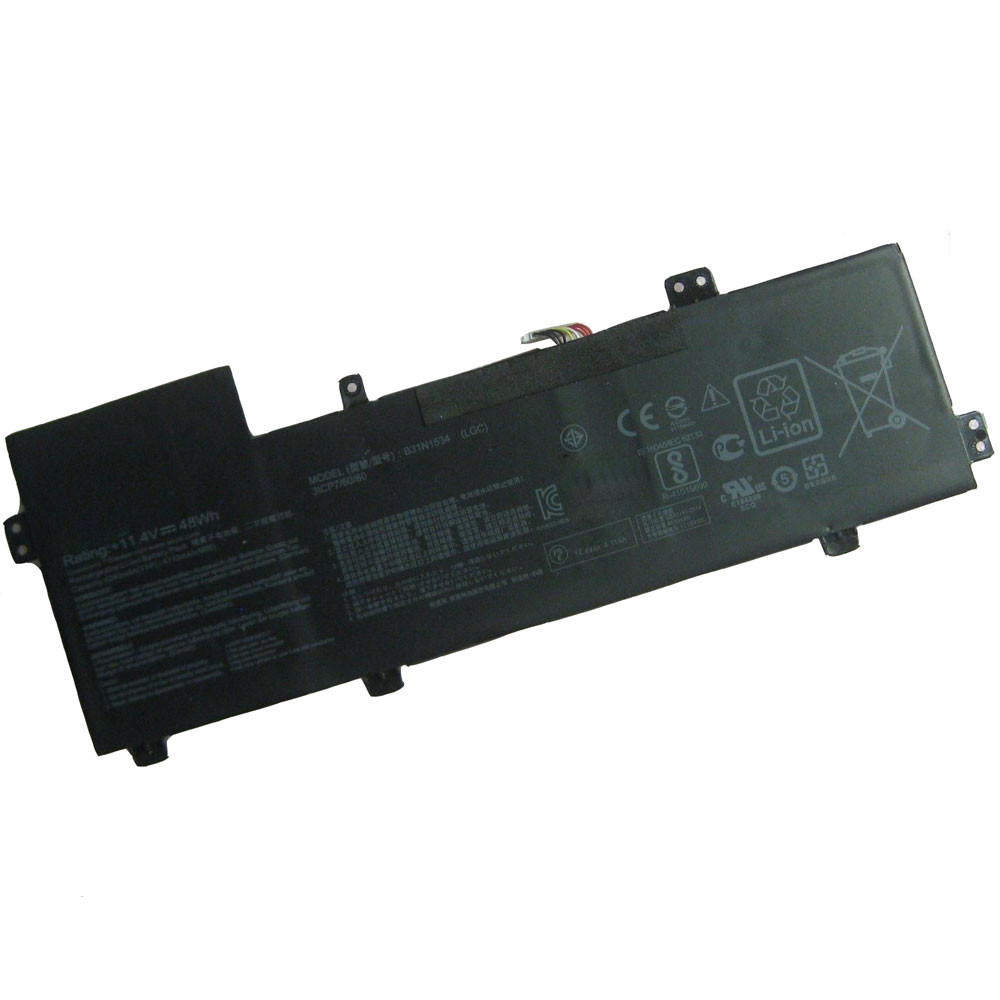 48Wh/4240mAh 11.4V B31N1534 Replacement Battery for Asus Zenbook UX510 UX510UW UX510UX Series