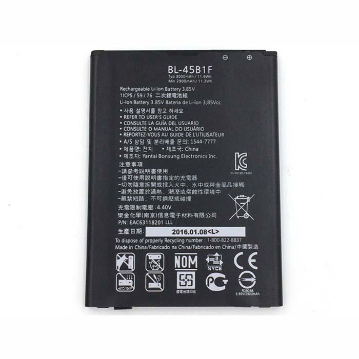3000mAh LG V10 H961N F600 H968  Replacement Battery BL-45B1F 3.8V