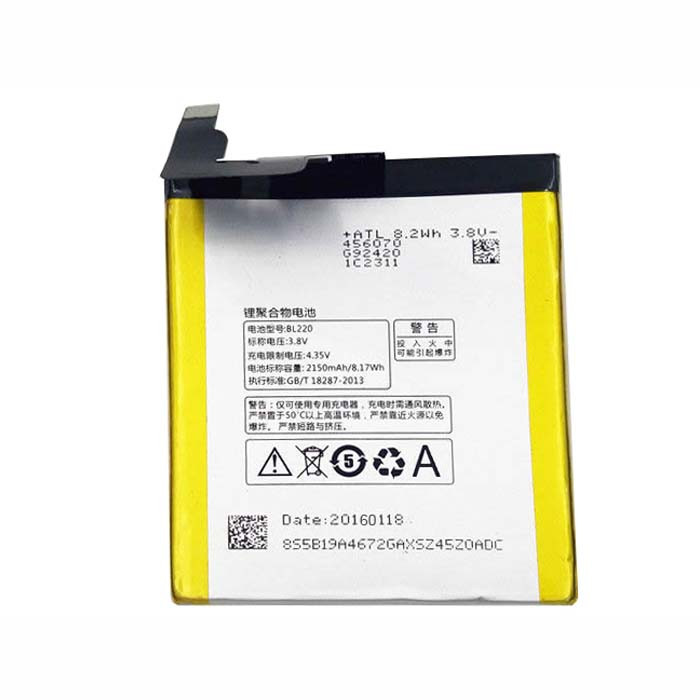 2150mAh Lenovo S850 S850T +Tools Replacement Battery BL220 3.8V