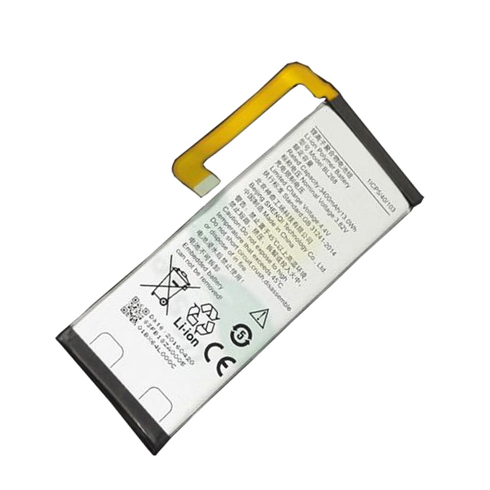 3500mah/13.4wh Lenovo ZUK Z2 Replacement Battery BL268 3.82V