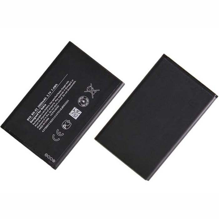 2000mAh Nokia XL Dual SIM BN-02 BN02 Replacement Battery BN-02 3.7V
