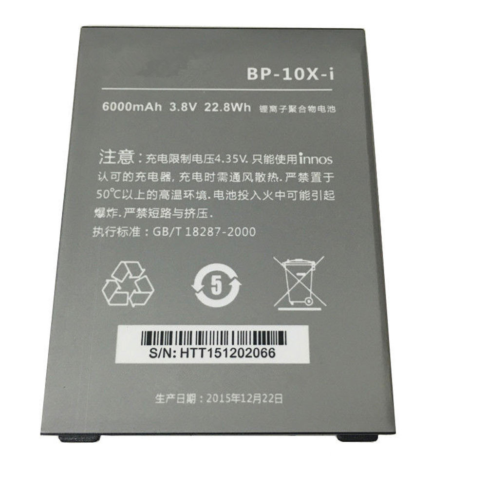 6000mAh/22.8WH 3.8V/4.35V BP-10X-i Replacement Battery for Highscreen Boost 2 Innos D10 D10C D10F