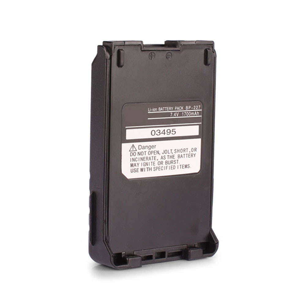 1700mah 7.4V  BP-227 Replacement Battery for Icom IC-F50 IC-F51 IC-F60 IC-F61 IC-M87