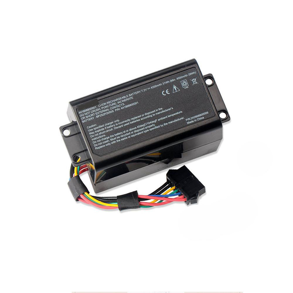 4000mAh/29WH 7.2V BP2S2P2050S Replacement Battery for Getac E110