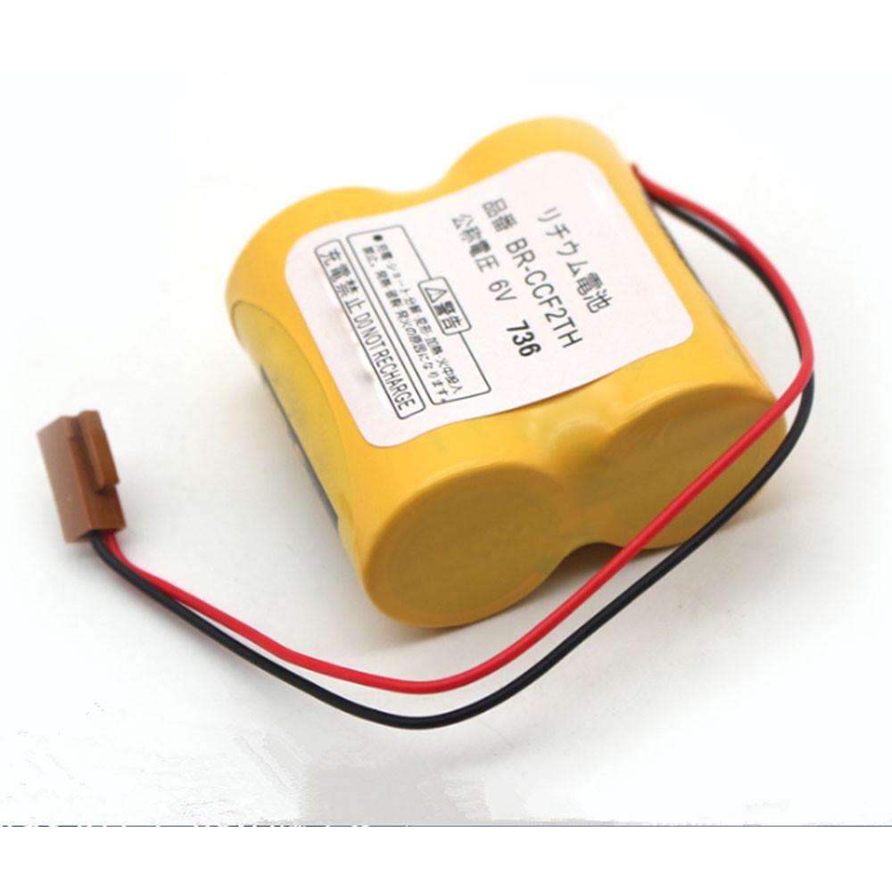 5000mAh 6V A06B-6073-K001 Replacement Battery for Panasonic BR-CCF2TH BR-C PLC