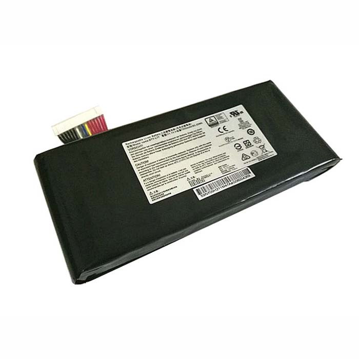 7500mAh/83.25Wh MSI GT72 2QD GT72S 6QF GT80 2QE Series Replacement Battery BTY-L77 11.1V