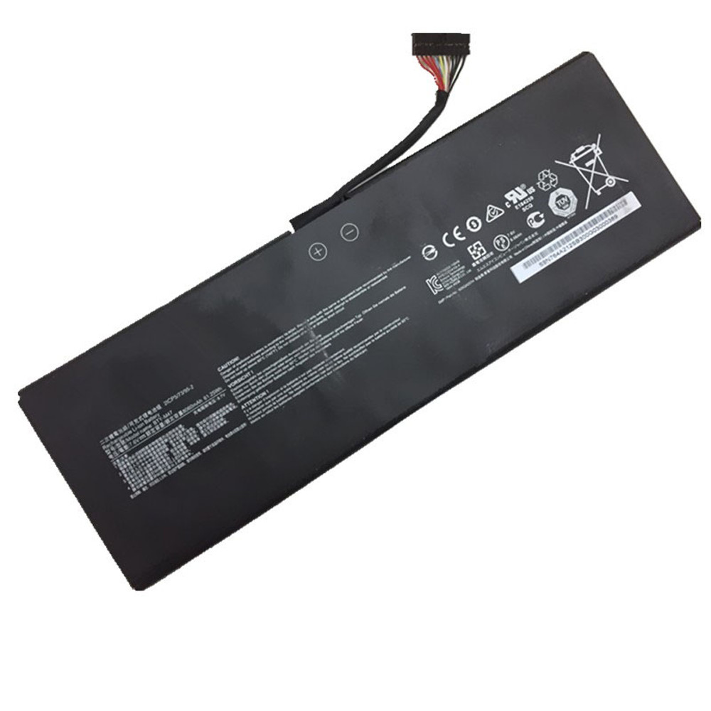 8060mAh/61.25W MSI GS40 GS43VR 6RE GS40 6QE Replacement Battery BTY-M47 7.6V