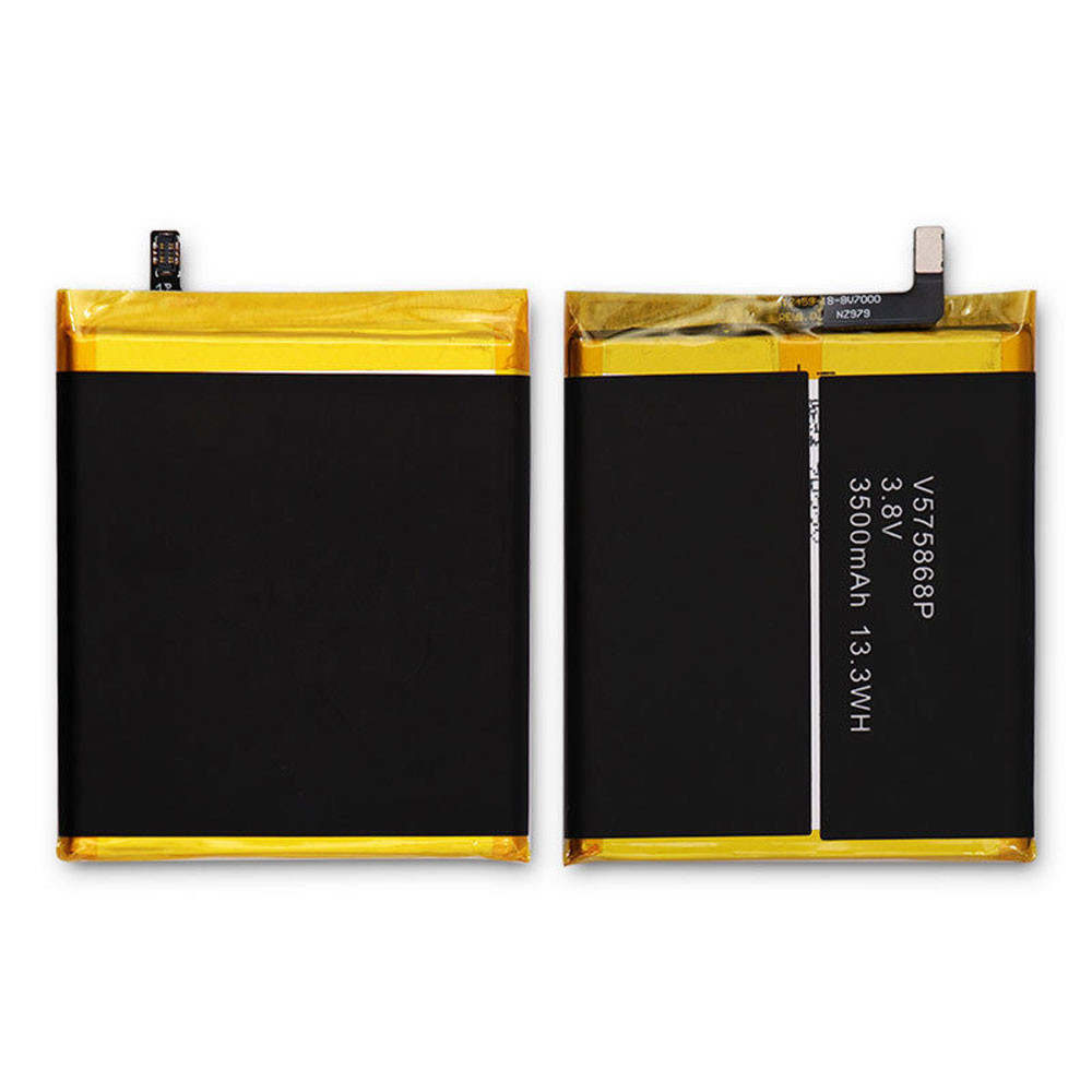 3500mAh 3.8V V575868P Replacement Battery for Blackview BV7000 Phone