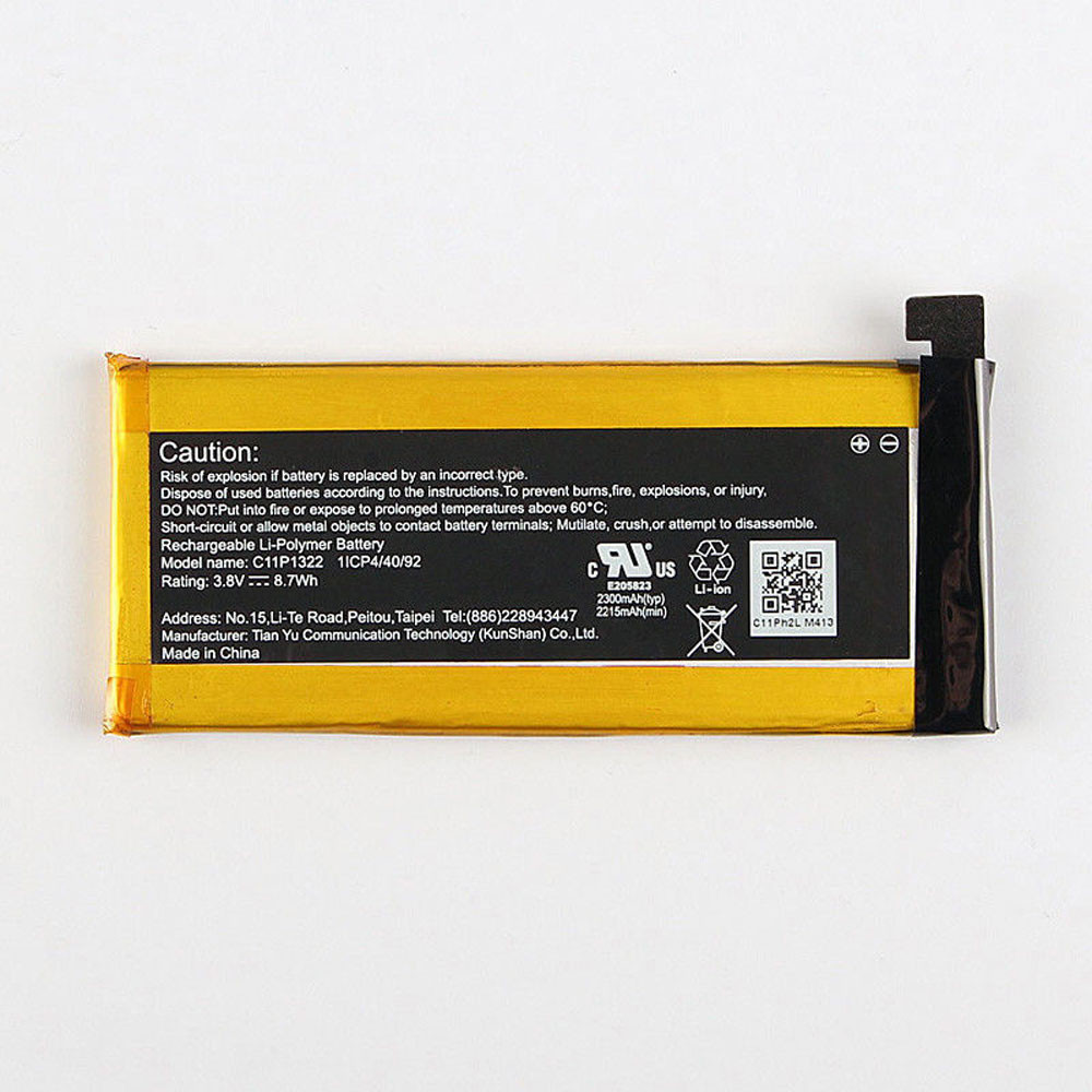 2300MAH/8.7WH 3.8V C11P1322 Replacement Battery for ASUS padfone S X T00N T00D PF500KL