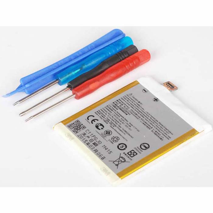 2050mAh  ASUS ZenFone 5 A500KL + Tools Replacement Battery C11P1324 3.8 DVC