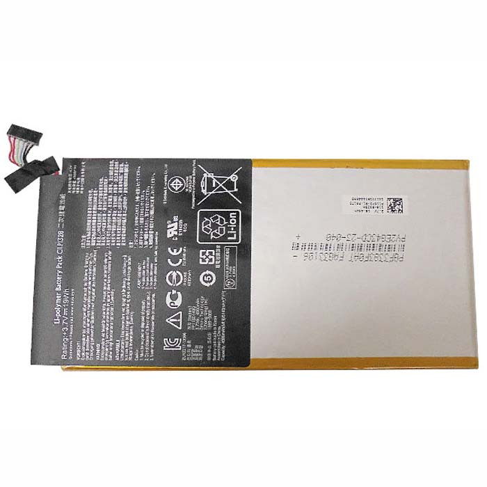 19Wh/4980mAh ASUS TRANSFORMER PAD TF103C Replacement Battery C11P1328 3.7V