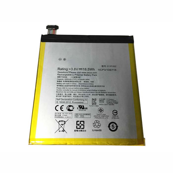 4750mAh ASUS ZENPAD 10 Z300C Z300CL Z300CG 10.1 Replacement Battery C11P1502 3.8V