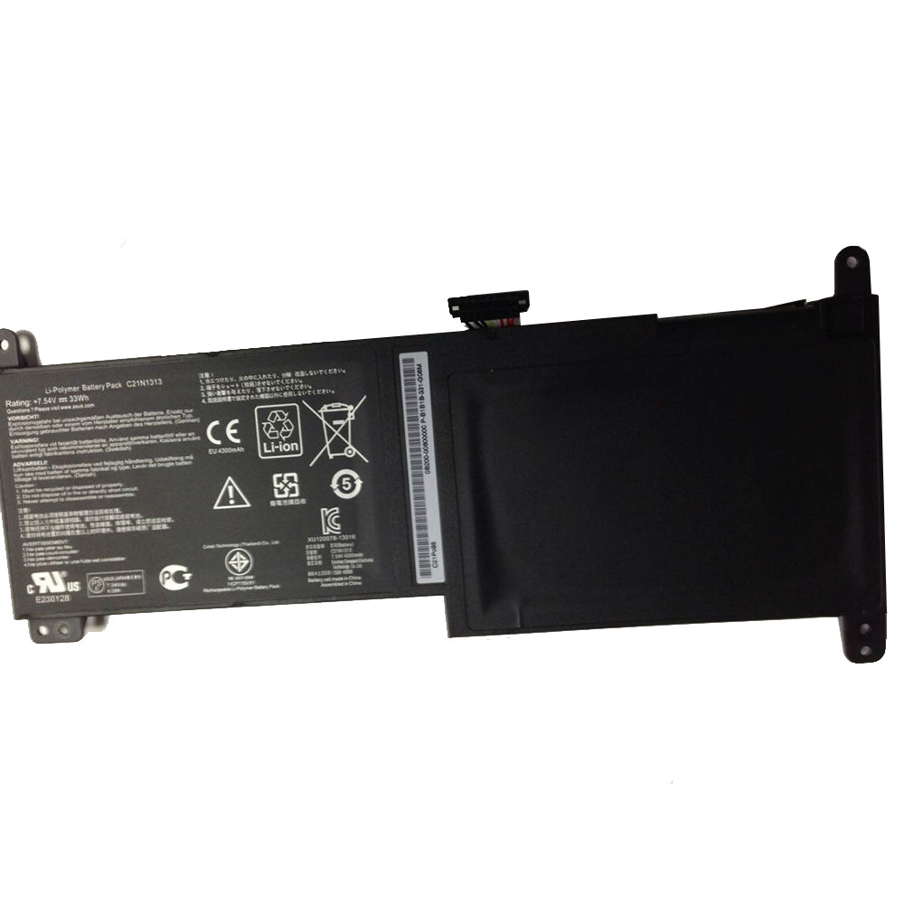 33wh Asus TX201 Series Replacement Battery C21N1313 7.54V