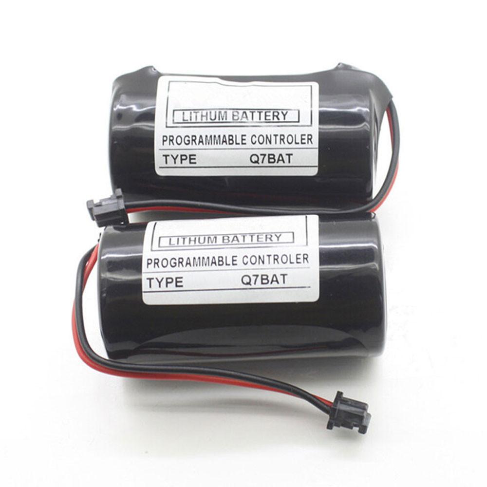 5000mah 3V CR23500SE Replacement Battery for Mitsubishi Q PLC 2pcs