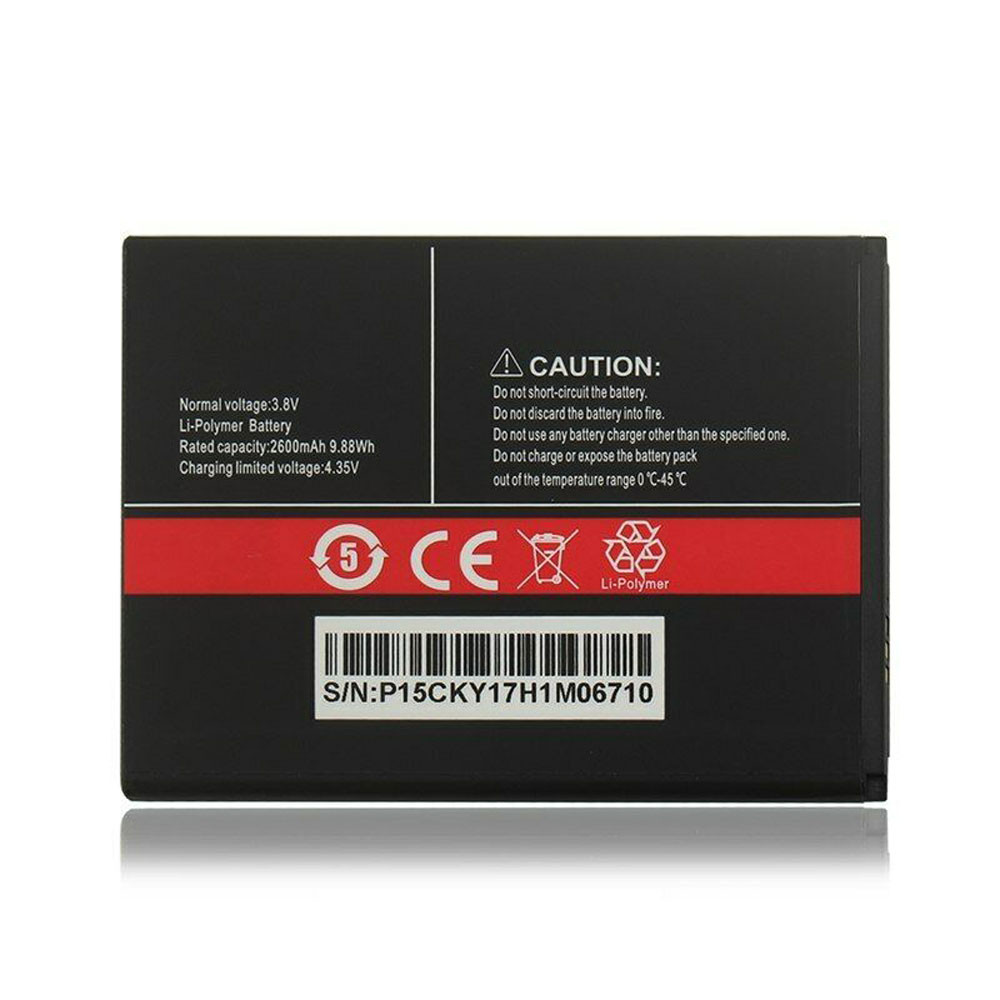 2600mAh/9.88WH 3.8V/4.35V R9 Replacement Battery for CUBOT R9