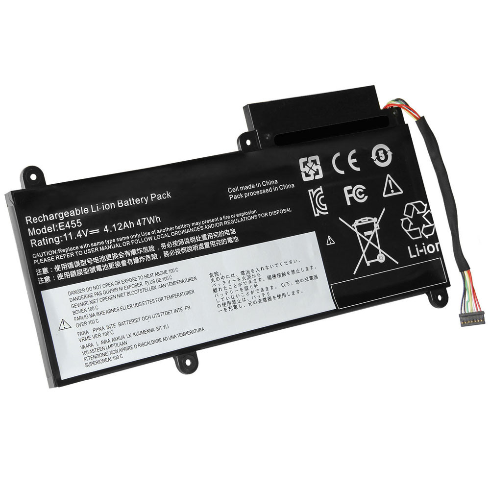 4280mAh / 47Wh 11.1V 45N1752 Replacement Battery for Lenovo ThinkPad E450 E450C E460