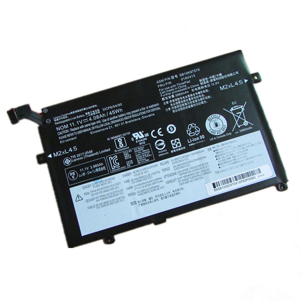 45Wh/4110mAh 10.95V 01AV411 Replacement Battery for Lenovo Thinkpad E470 E470C E475 01AV412 SB10K97568
