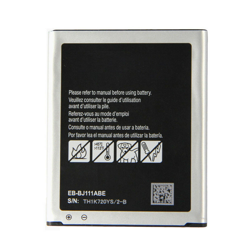 1800mAh/6.84WH 3.8V/4.35V EB-BJ111ABE Replacement Battery for Samsung Galaxy J1 J Ace J110 SM-J110F J110H J110F J110FM
