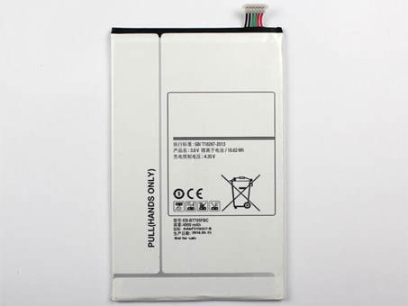 4900mAh Samsung GALAXY Tab S 8.4 T700 T705C Replacement Battery EB-BT705FBC 3.8DVC