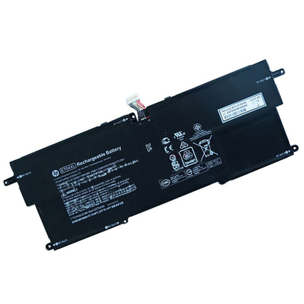 49.81Wh/6470mAh 7.7V ET04XL Replacement Battery for HP HSTNN-IB7U ET04049XL
