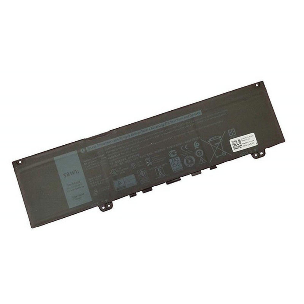 38Wh/3166mAh 11.4V F62G0 Replacement Battery for Dell Inspiron 13