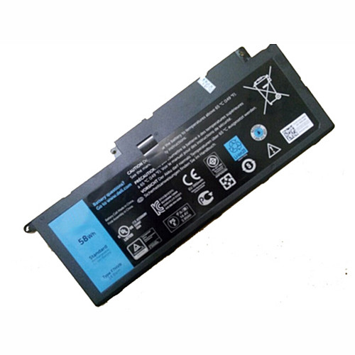 58Wh Dell Inspiron 15 7000 7537 Series  Replacement Battery Y1FGD F7HVR  14.8V