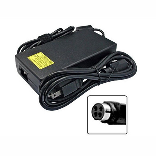 Charger Adapter and Cord for 220W (EPS2.0) PSE (TUV)19V 11.57A DC O/P 4P FSP (9NA2200201) D900F