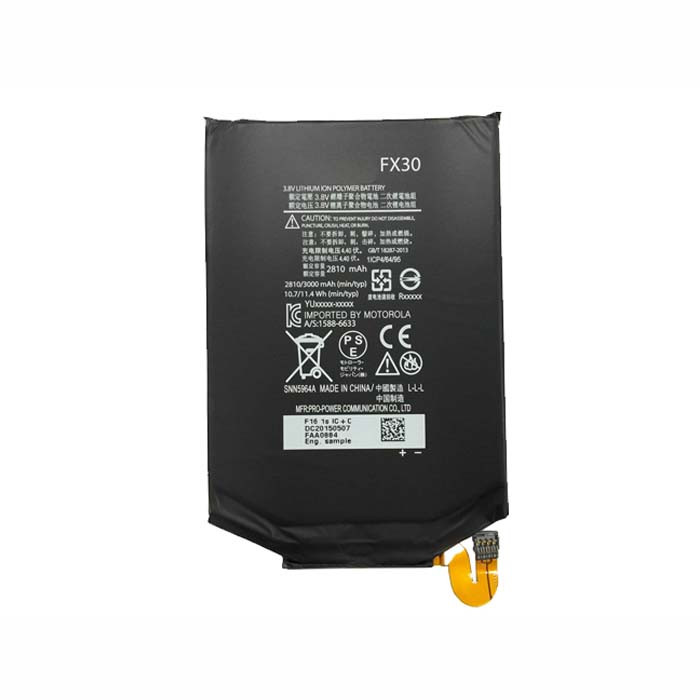 2810mAh Motorola XT1575 Moto X Pure Edition / Moto X Style Replacement Battery FX30 3.8V