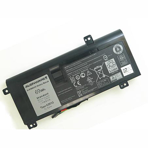 69Wh DELL Alienware 14 A14 M14X R3 R4 69Wh Replacement Battery 0G05YJ Y3PN0 G05YJ 11.1V