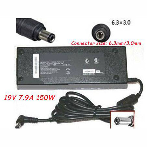 Charger Adapter and Cord for Gateway M350 M675 AC Adapter Charger Power Supply 19V 7.9A 150W NEW