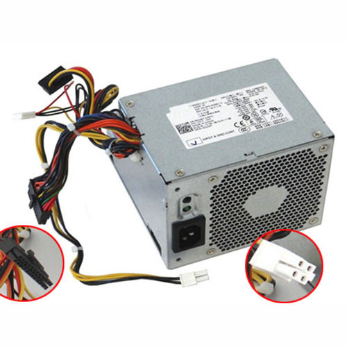 Charger Adapter and Cord for DELL OptiPlex 760 780 DT L255P-01 WU123 255W Power Supply