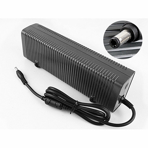 Charger Adapter and Cord for Microsoft DC-ATX LED ITX power supply with belt fan